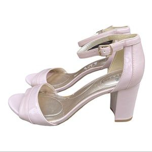 Bandolino Pink Block Heel Sandals Size 8